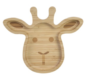 BAM BAM Bambusový tanierik Žirafa