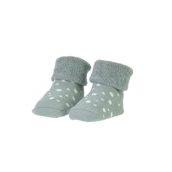 BAMBAM  Ponožky organické sada sivá/puntíky