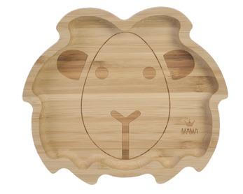 BAM BAM Bambusový tanierik Lev